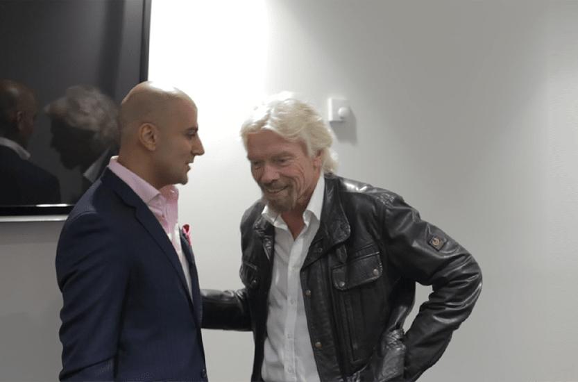 Richard Branson & Aaron Sansoni