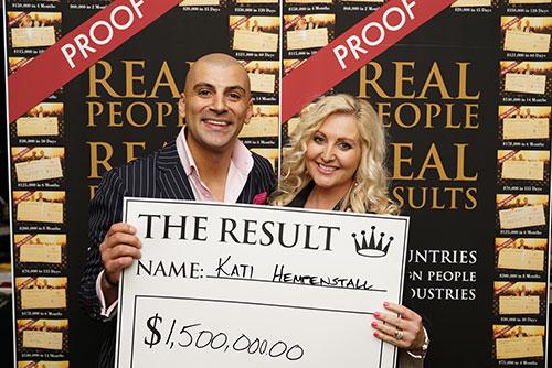 Result: Kati $1,500,000