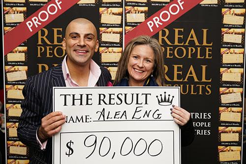 Result: Alea Eng $90,000