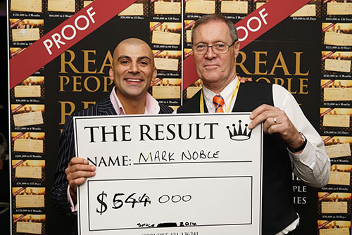 Result: Mark Noble $544,000