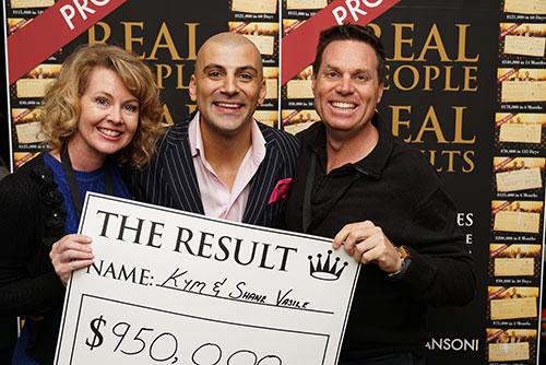 Result: Kim & Shane Vasile $950,000