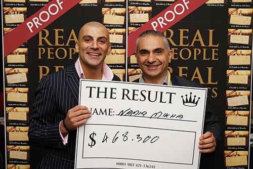 Result: Namir Mikha $468,300