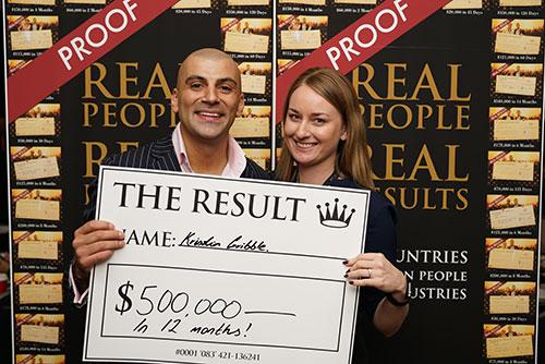Result: $500,000