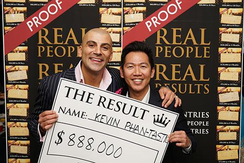 Result: Kevin Phan-Tastic $888,000