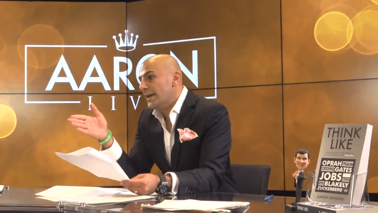 Aaron Sansoni Live Episode 2