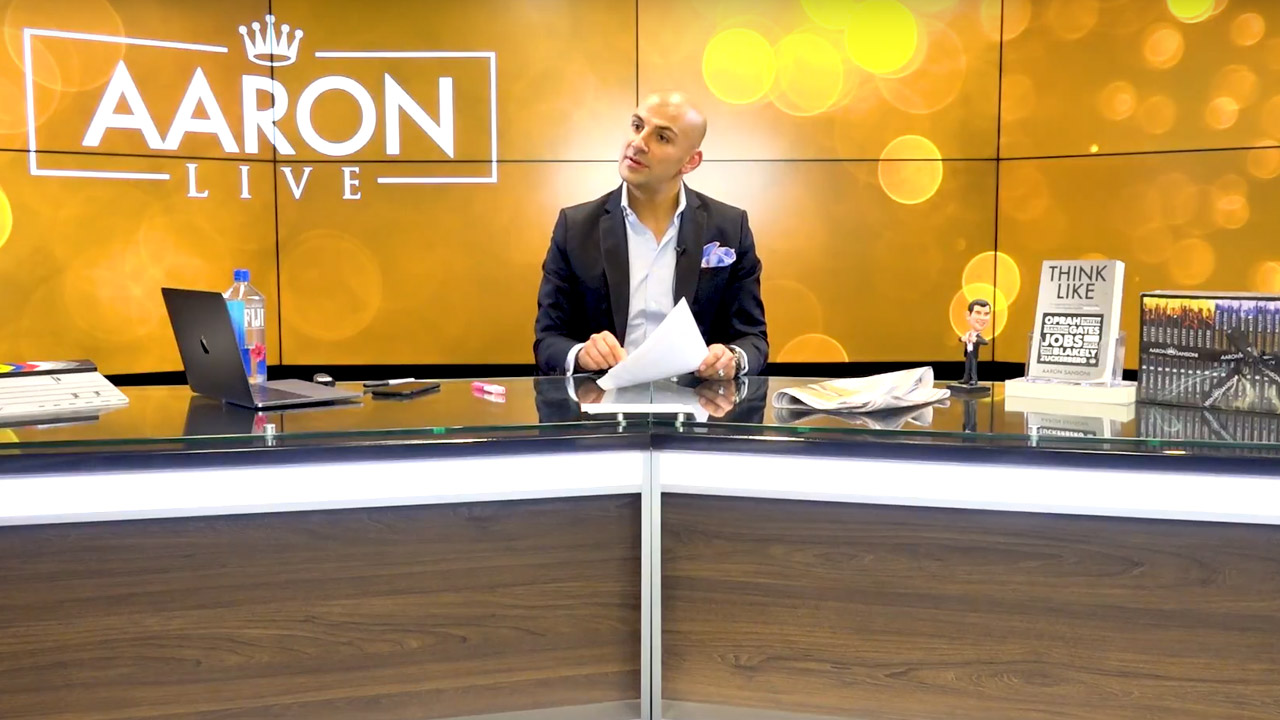 Aaron Sansoni Live Episode 3