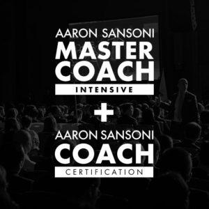 Aaron Sansoni Coach & Master Coach
